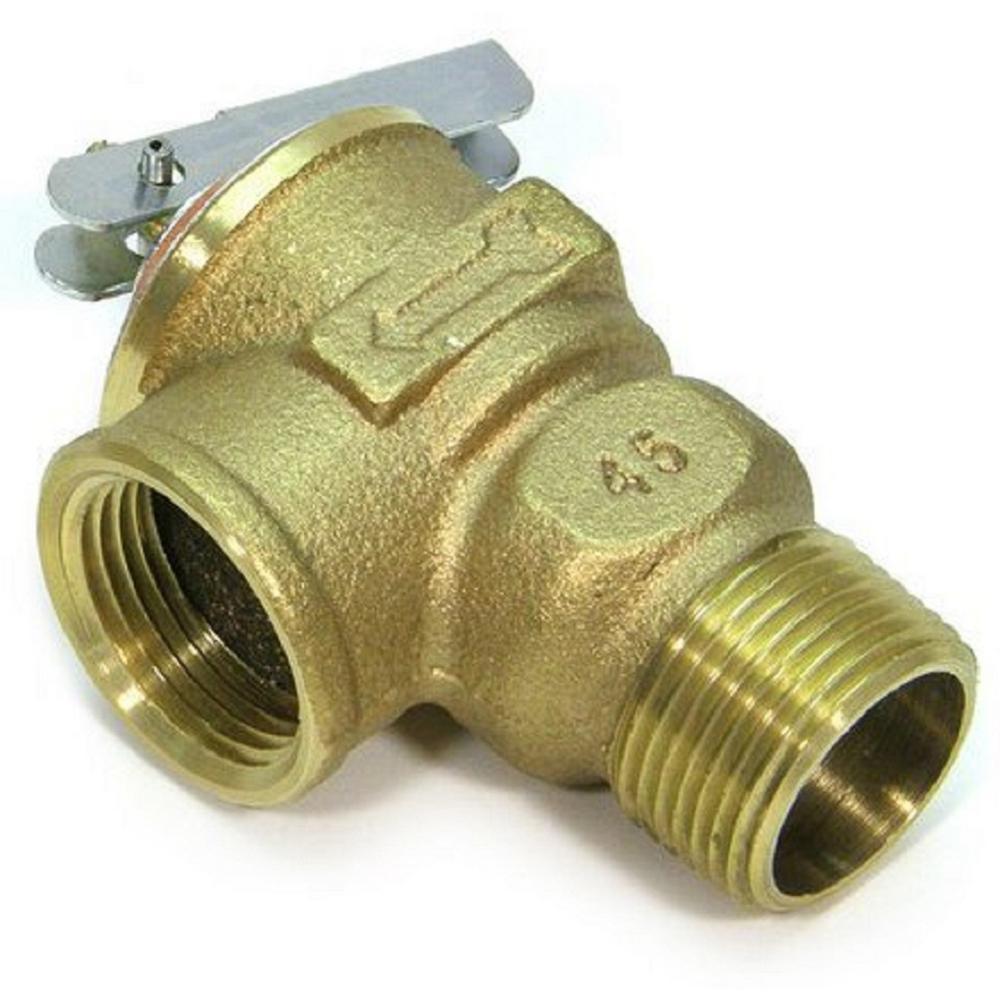 Zurn-Wilkins 3/4 in. Lead Free Brass NPT Pressure Relief Valve