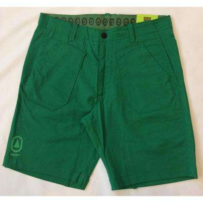Nile Hollywood Men's 30 in. Green Short