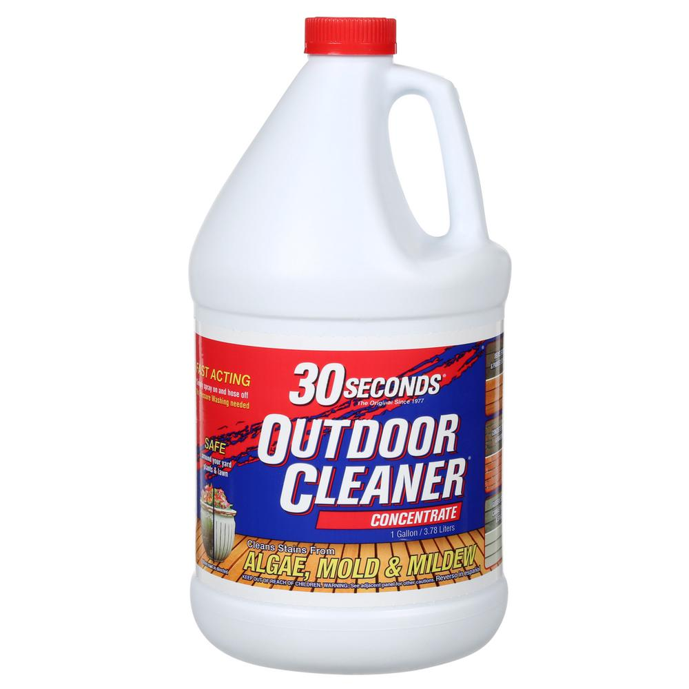 30 Seconds 1 Gal. Outdoor Cleaner Concentrate-100047549 - The Home ...