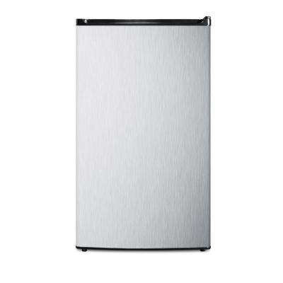 3.6 cu.ft. Mini Refrigerator in Stainless Steel, ENERGY STAR