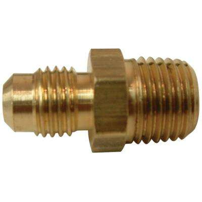 3/8 in. FL x 1/4 in. MIP Lead-Free Brass Flare Union