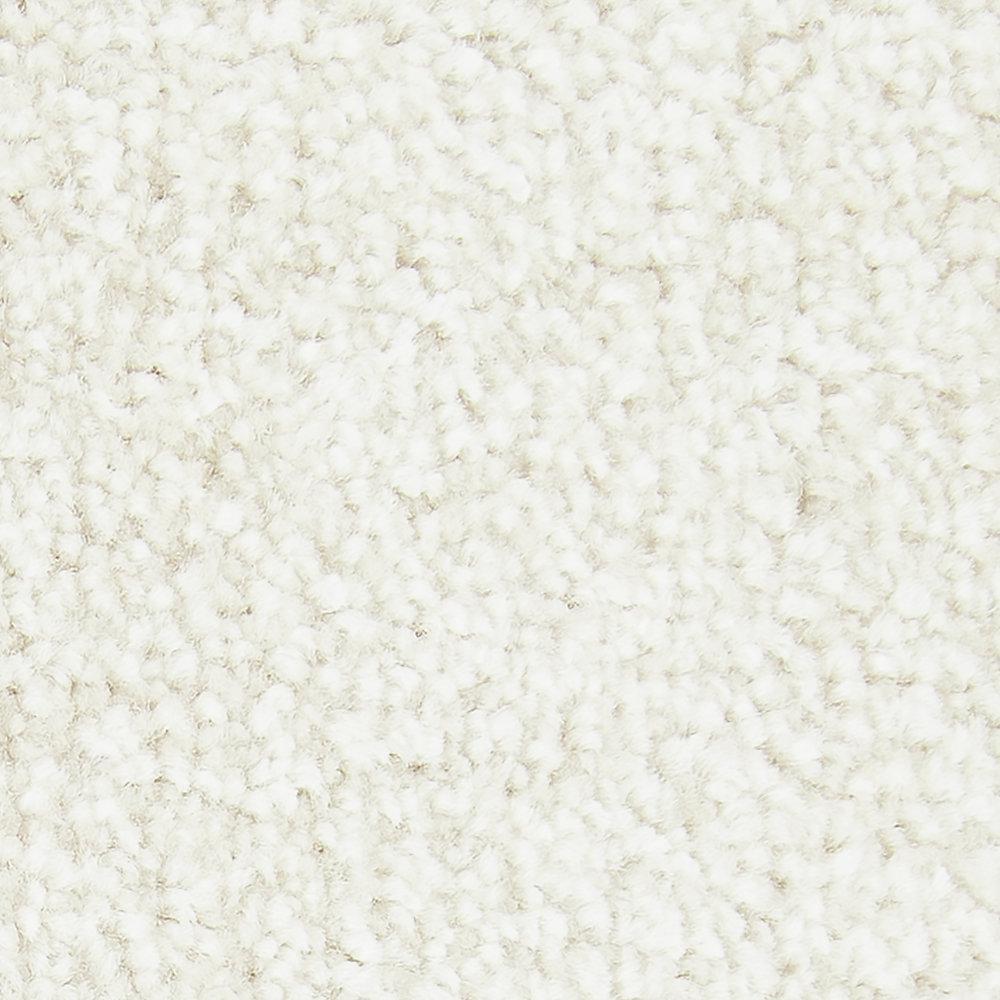 Gentle Peace II - Color Cashmere Texture 12 ft. Carpet