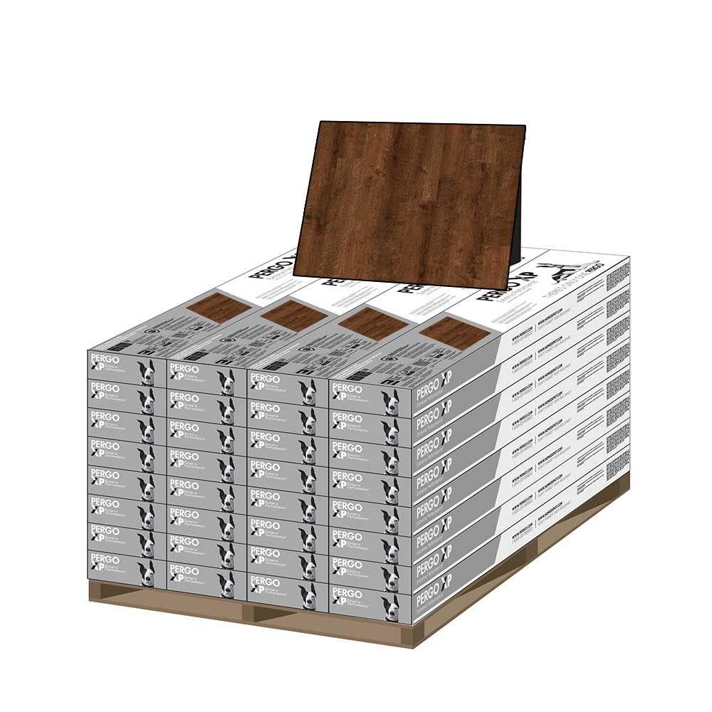 XP Cinnabar Oak 8 mm Thick x 7-1/2 in. Wide x 47-1/4 in. Length Laminate Flooring (628.16 sq. ft. / pallet)