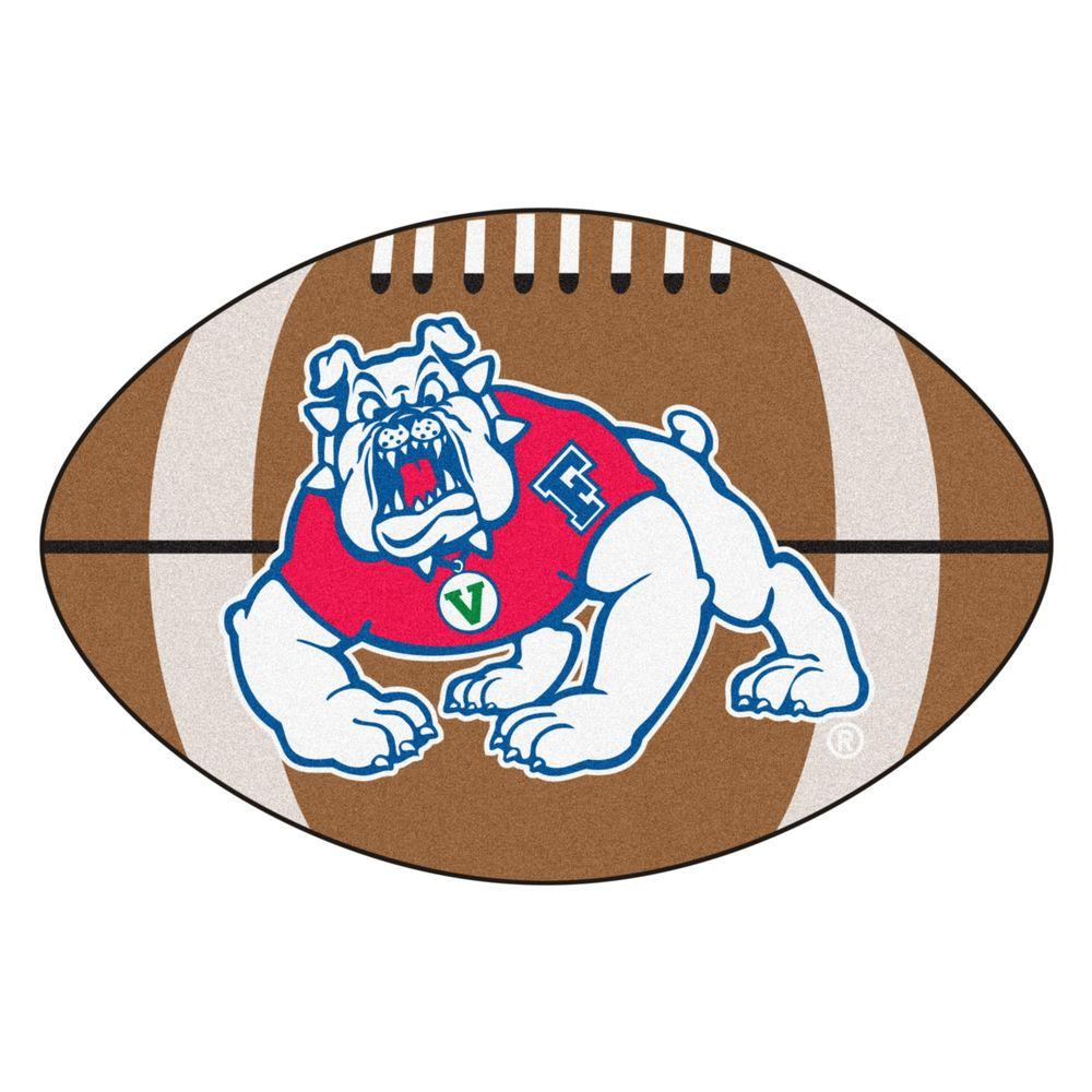 FANMATS NCAA Fresno State Brown 1 ft. 10 in. x 2 ft. 11 in ...