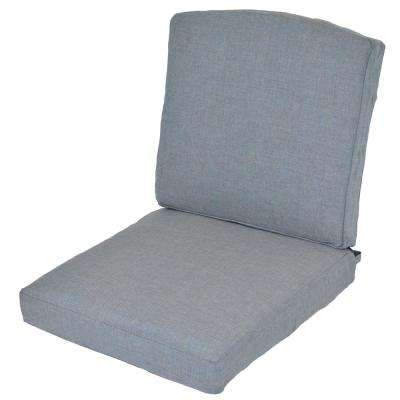 Oak Cliff Spa Replacement 2-Piece Outdoor Glider Cushion