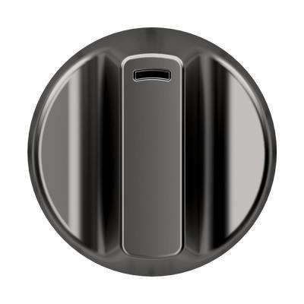 Electric Cooktop Knob Kit in Brushed Black