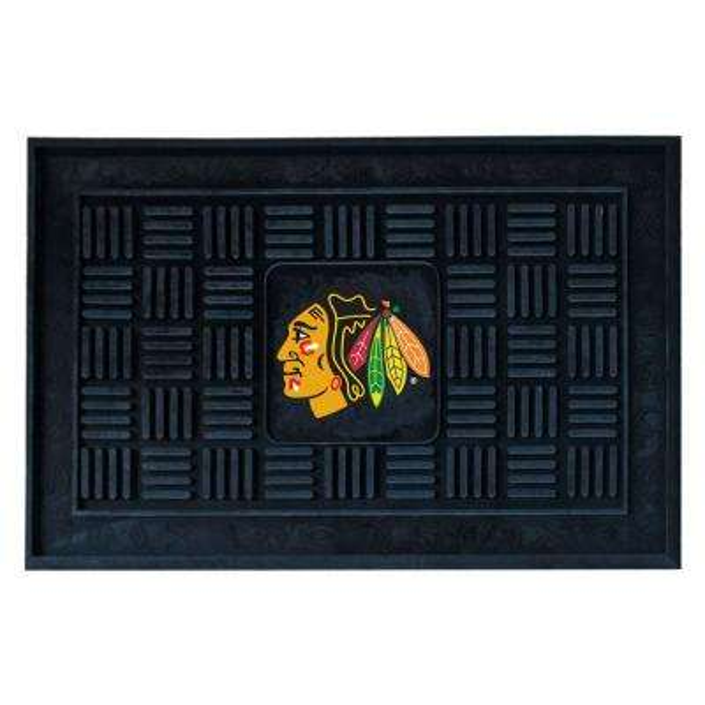 Chicago Blackhawks 18 in. x 30 in. Door Mat