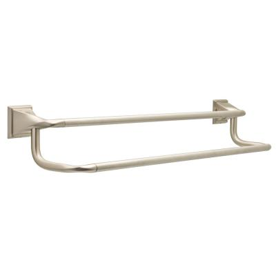Everly 24 in. Double Towel Bar in SpotShield Brushed Nickel