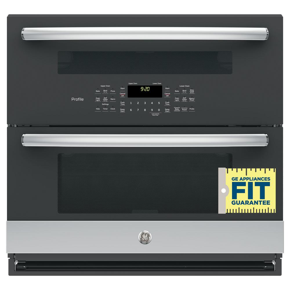 Profile 30 in. Double Electric Wall Oven with Convection (Lower Oven)