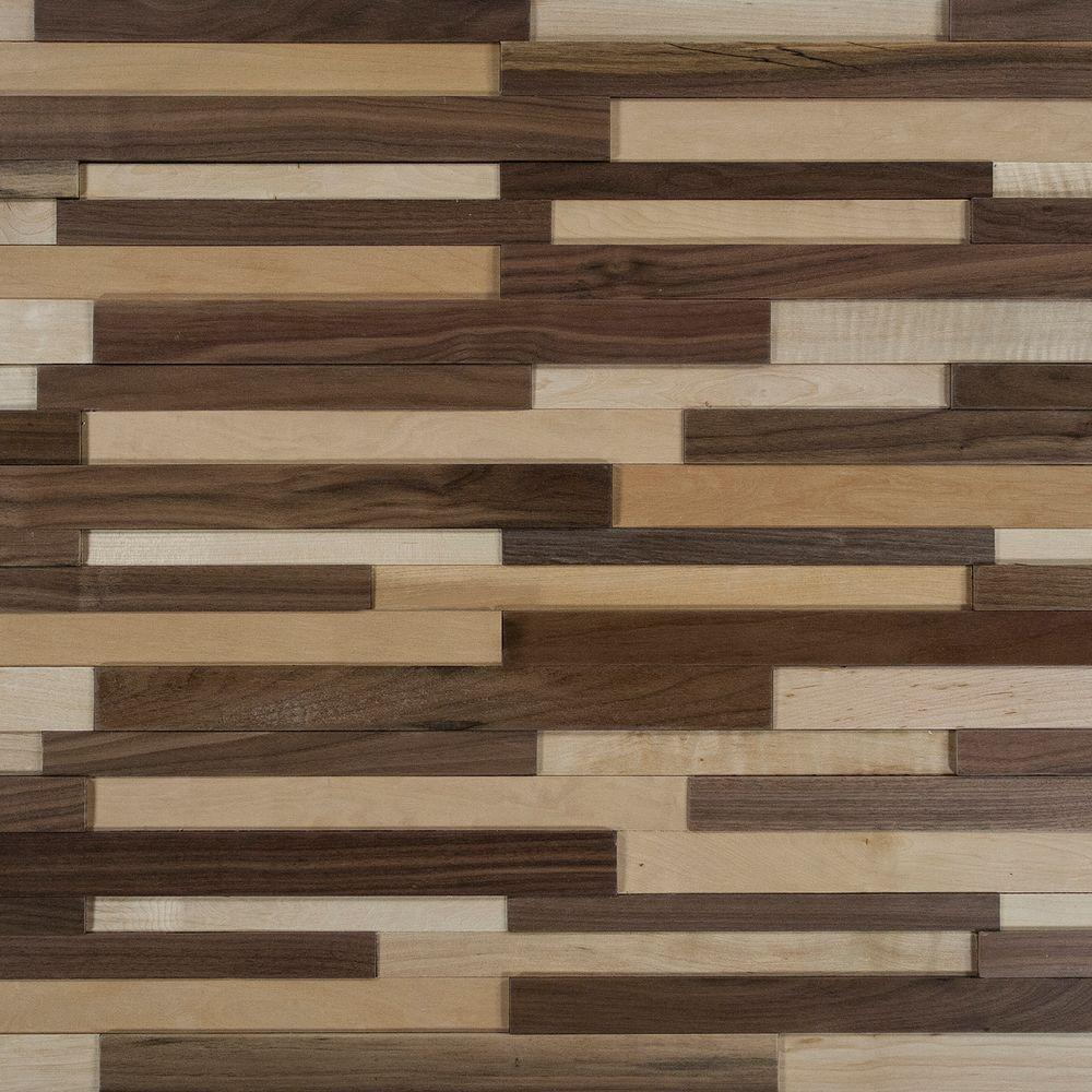 Nuvelle Deco Strips Natural 3/8 in. x 7-3/4 in. Wide x 47-1/4 in. Length Engineered Hardwood ...