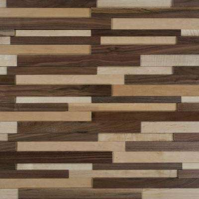 Deco Strips Natural 3/8 in. x 7-3/4 in. Wide x 47-1/4 in. Length Engineered Hardwood Wall Strips (10.334 sq. ft. / case)