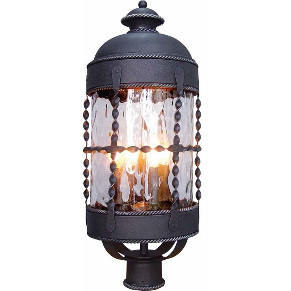 Marvelous Volume Lighting Orleans 4 Light Blacksmith Outdoor Post Mount