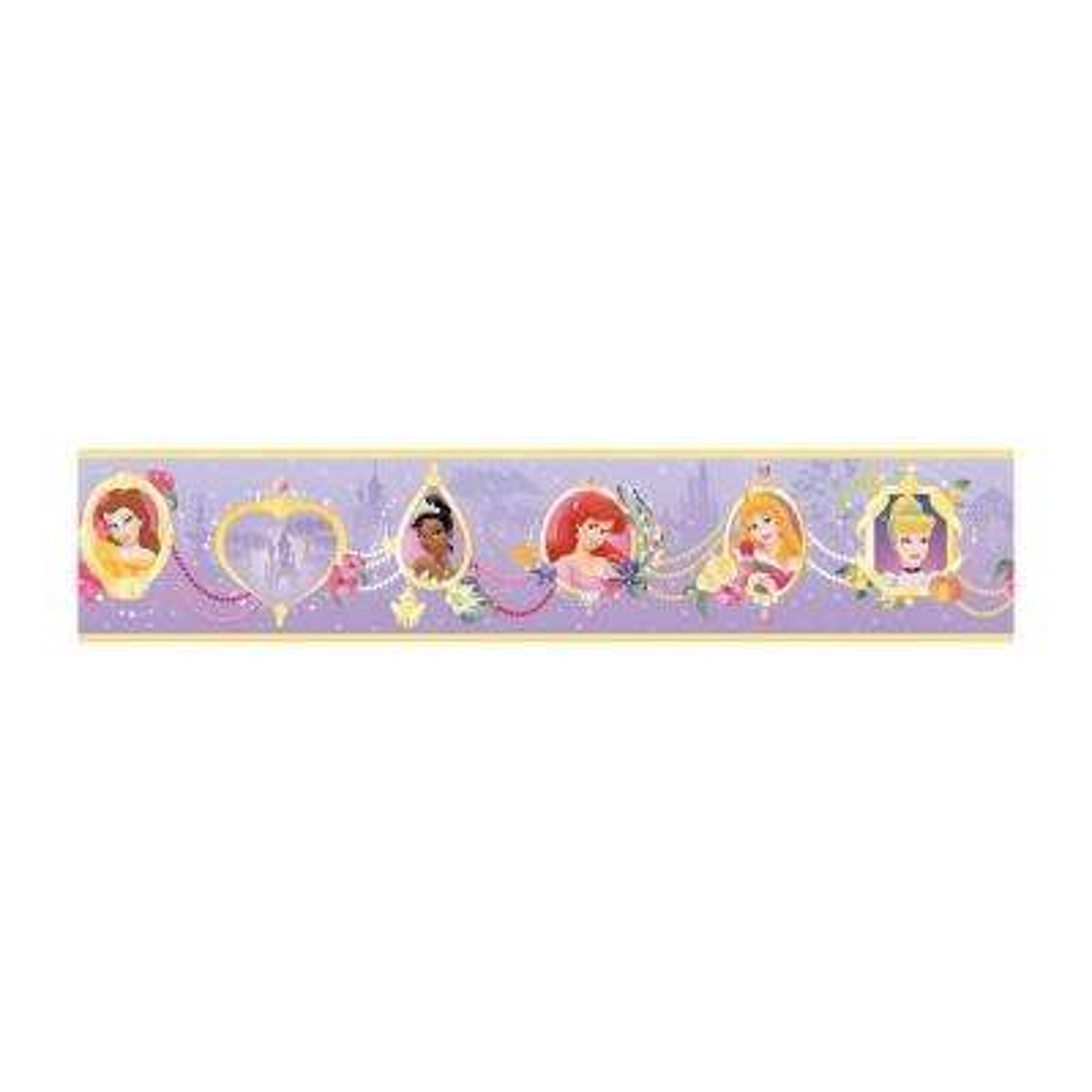 Disney Kids Princess Frames Wallpaper Border