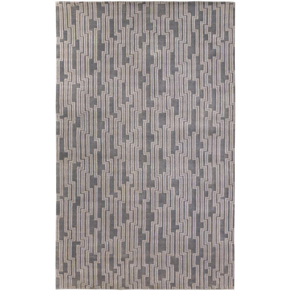 Candice Olson Gray 5 ft. x 8 ft. Area Rug