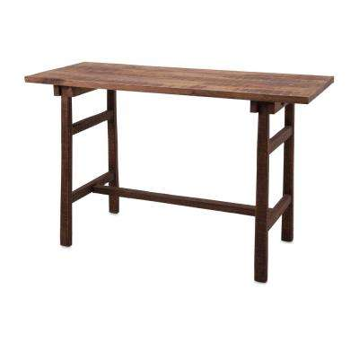 Farm Brown Wood Desk
