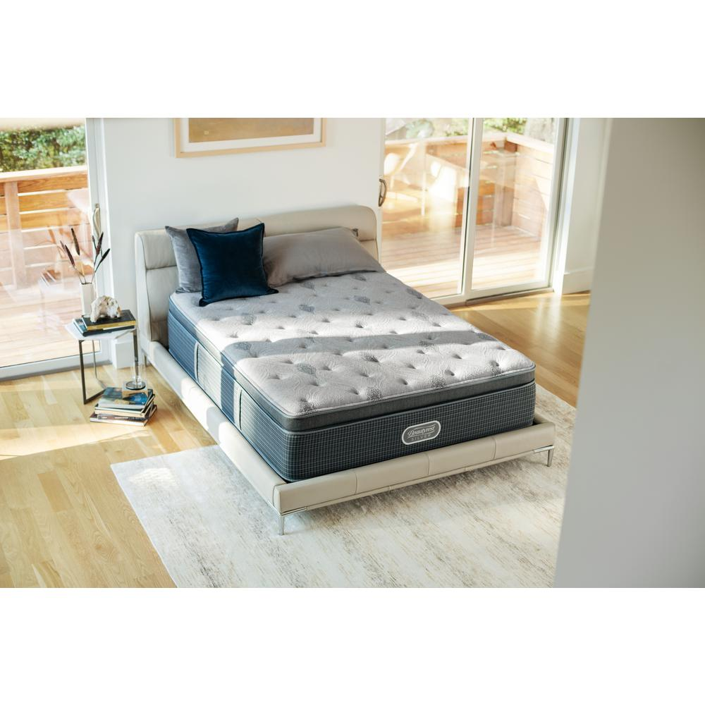 Beautyrest Silver Santa Barbara Cove California King Luxury Firm Low Profile Mattress Set