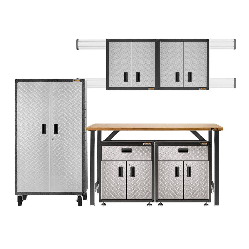 Gladiator Ready To Assemble 66 In. H X 103 In. W X 20 In