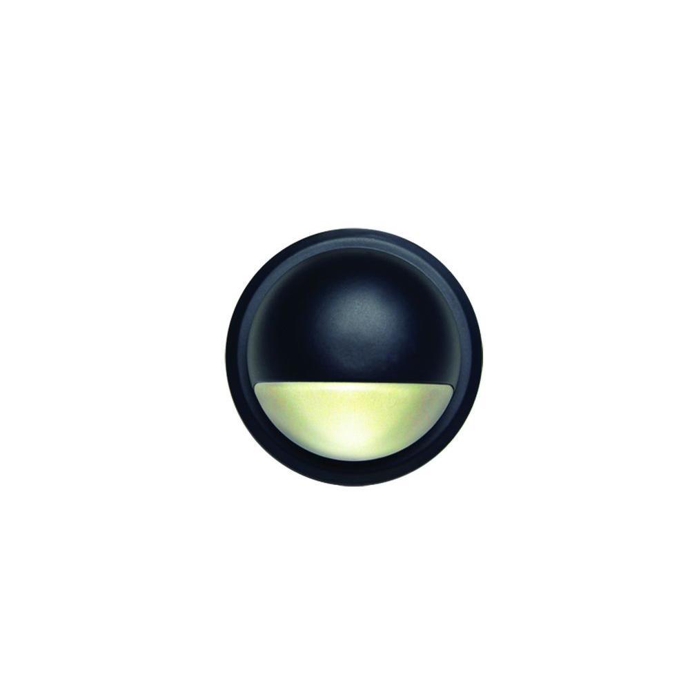 DeckLighting 2.75 in. Black LED Deck Rail Light