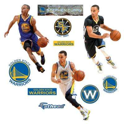 39 in. H x 52 in. W Stephen Curry Hero Pack Wall Mural