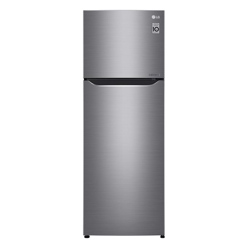 LG Electronics 11.1 cu. ft. Top Freezer Refrigerator in Platinum Silver, Counter Depth