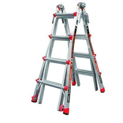 Revolution 17 ft. Aluminum Multi-Position Ladder with 300 lb. Load Capacity Type IA Duty Rating