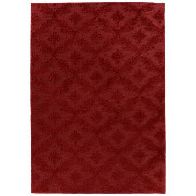 Charleston Chili Pepper Red 12 ft. x 12 ft. Area Rug
