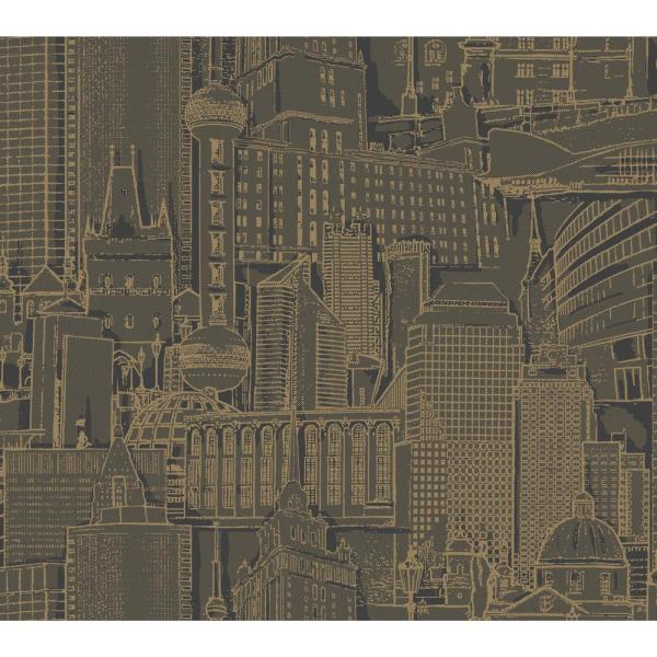 York Wallcoverings Risky Business 2 Great Expectations Removable Wallpaper