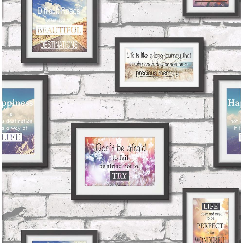 8 in. x 10 in. Inspire Multi Frames Wallpaper Sample-2900-41920SAM ...
