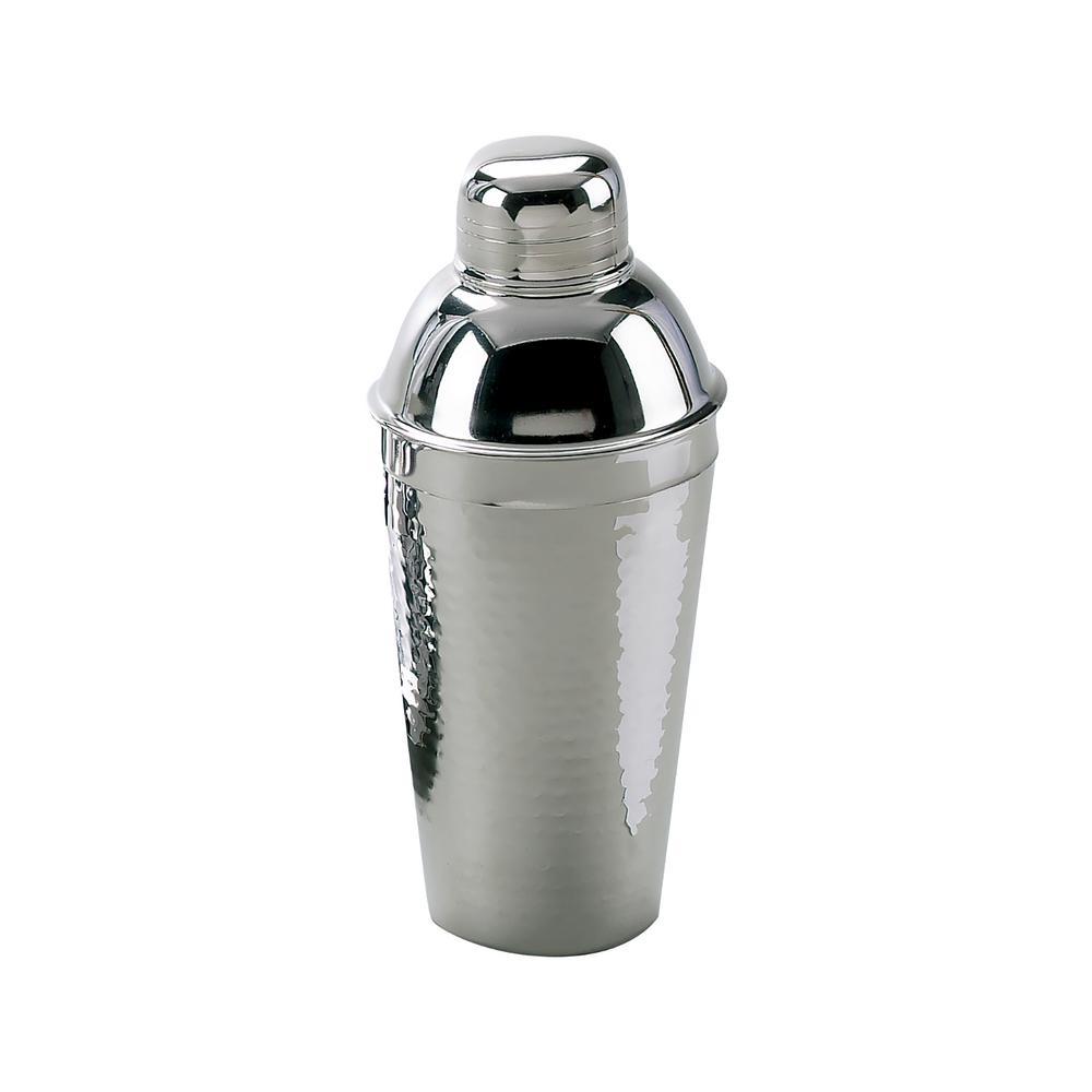 Elegance Hammered Stainless Steel Coktail Shaker