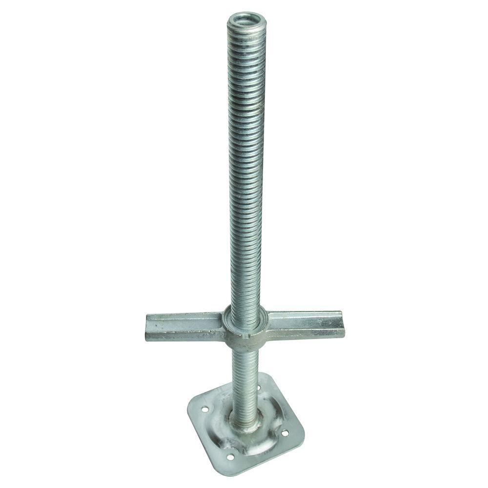 Metaltech 24 In Adjustable Leveling Jack M Mbsjp24h The Home Depot