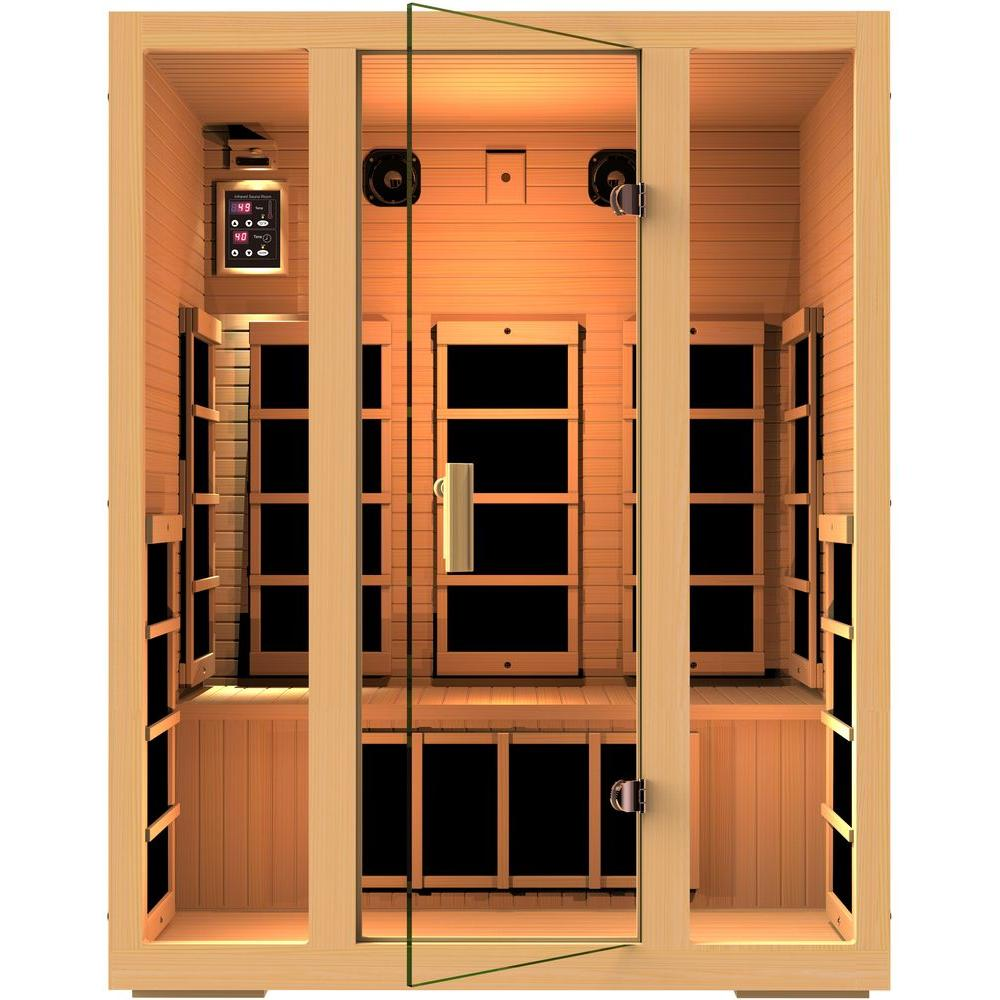 Joyous 3 Person Far Infrared Sauna