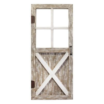 Wooden Barn Door Wall Decor