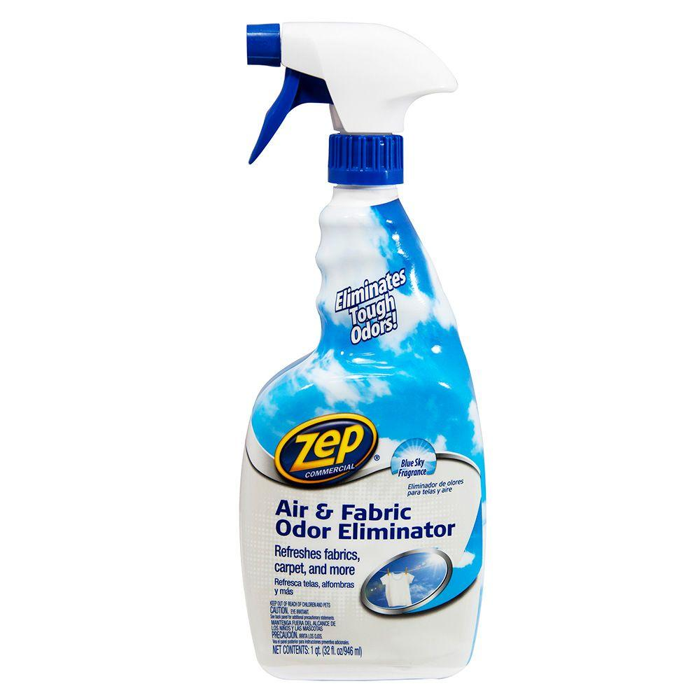 Zep oz air and fabric odor eliminator zuair the