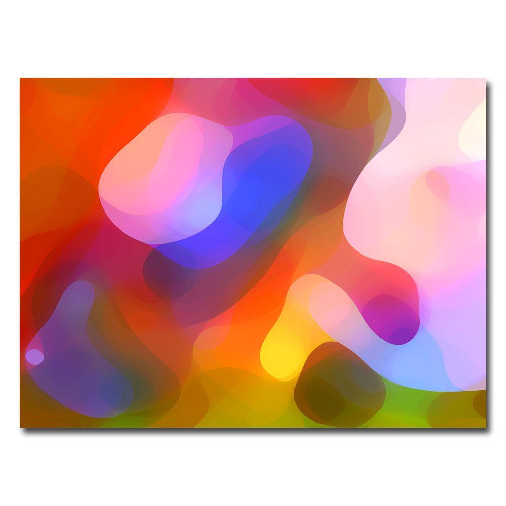 Trademark Fine Art 18 in. x 24 in. Dappled Summer Light Canvas Art