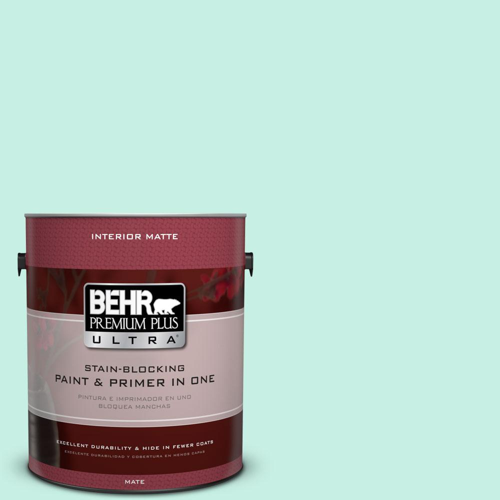 BEHR Premium Plus Ultra 1 gal. #P430-1 Summer House Matte Interior Paint