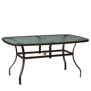 Mix and Match Rectangle Metal Outdoor Dining Table