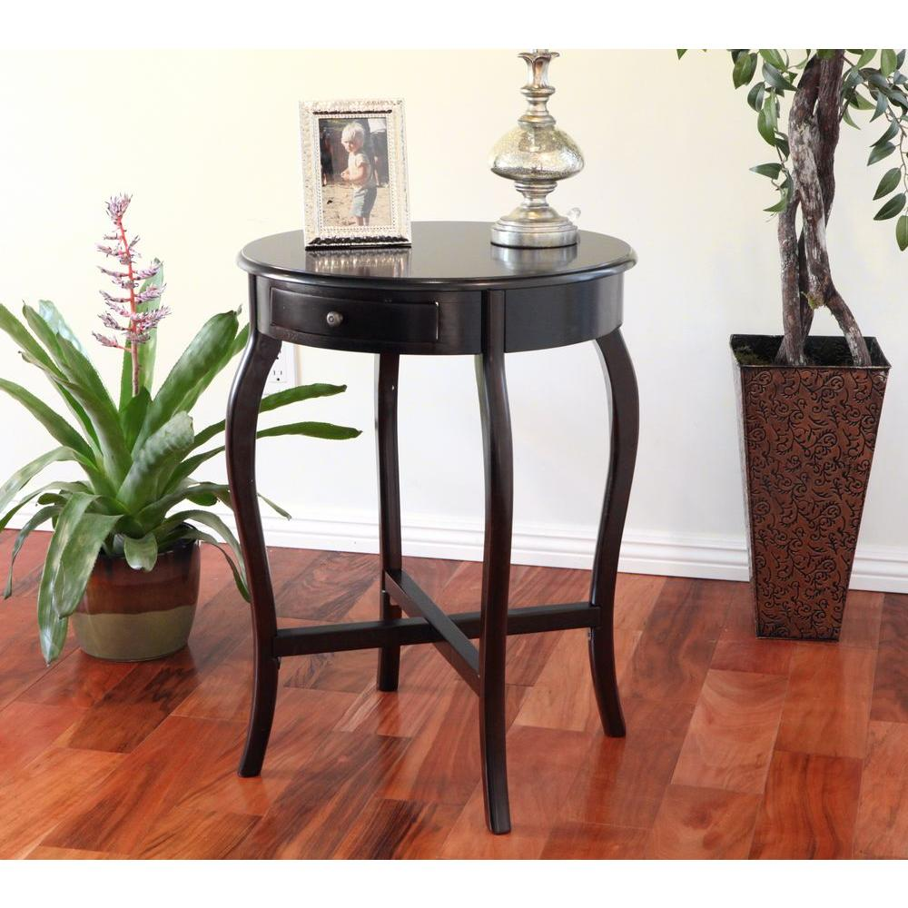 Cherry Storage End Table