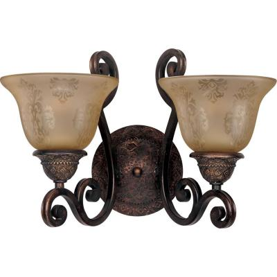 Symphony 2-Light Oil-Rubbed Bronze Sconce