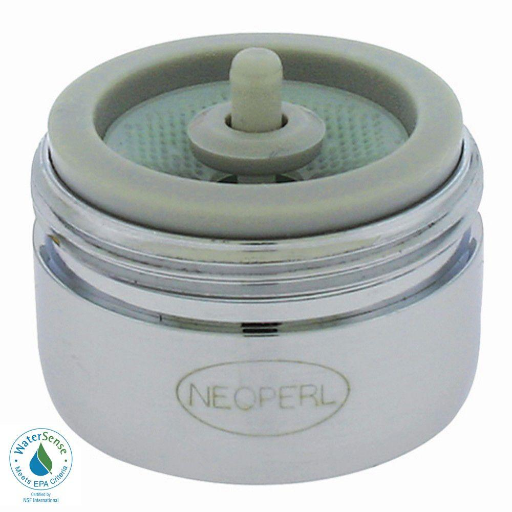 NEOPERL 1.5 GPM Regular Male Auto-Clean Water-Saving Faucet Aerator ...