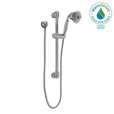 FloWise Traditional 3-Spray Wall Bar Shower Kit in Brushed Nickel