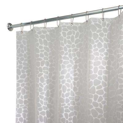 Pebblz Shower Curtain in White