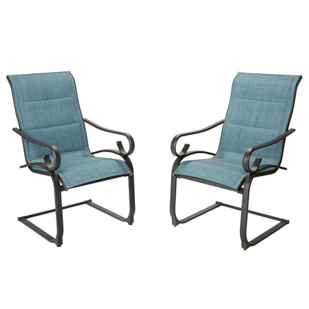 Hampton Bay Patio Dining Chair Padded, Hampton Bay Outdoor Furniture