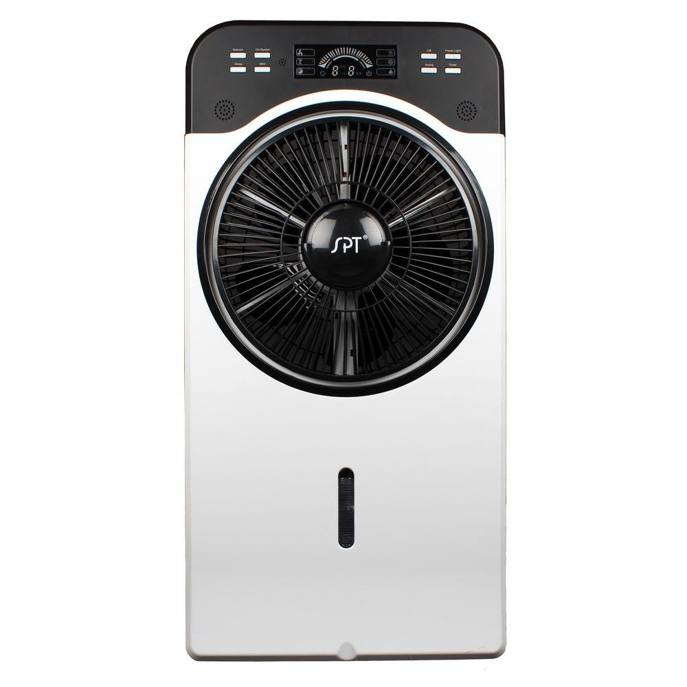 SPT 14 in. Indoor Misting and Circulation Fan