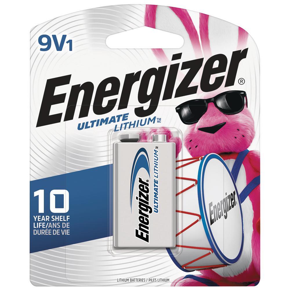 Energizer Ultimate Lithium 9-Volt Battery (1-Pack)