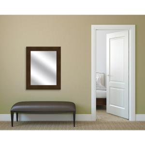 31 5 In X 25 Natural Wood Framed Mirror