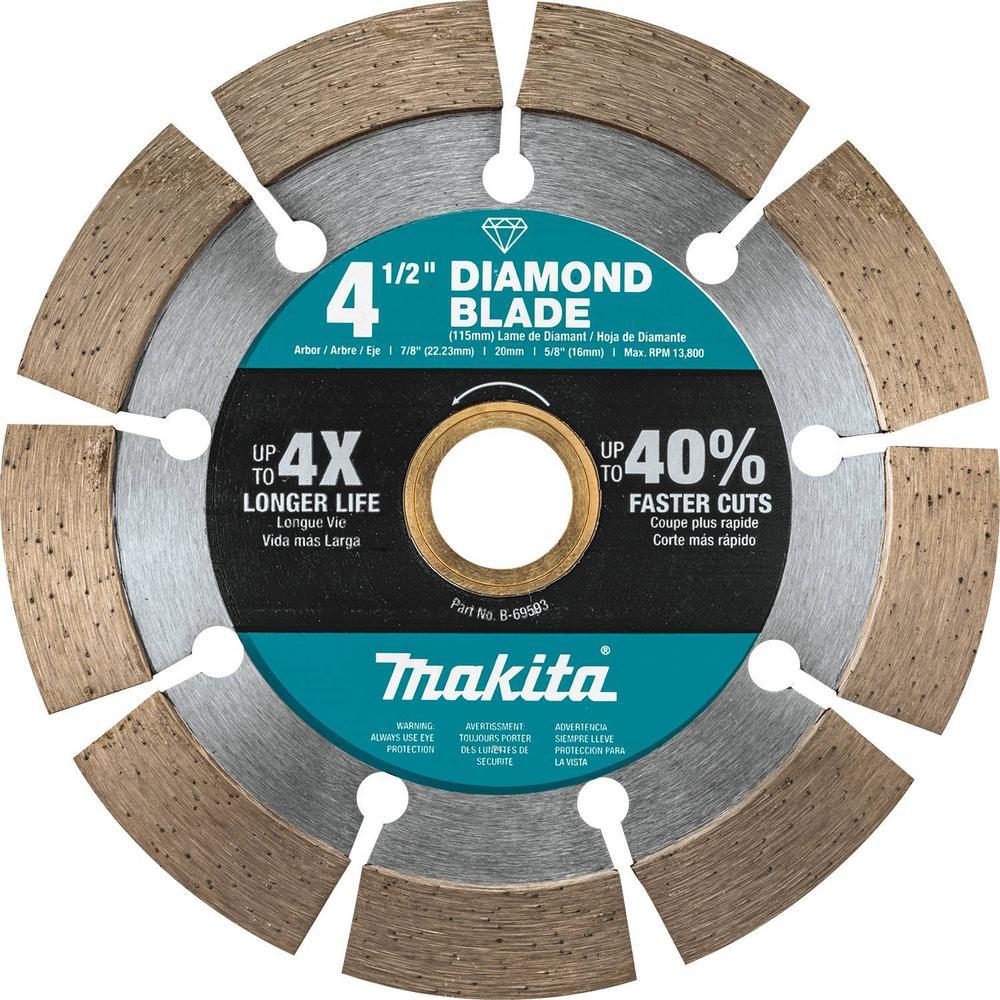 Makita Makita 4.5 in. Segmented Rim Diamond Blade for General Purpose