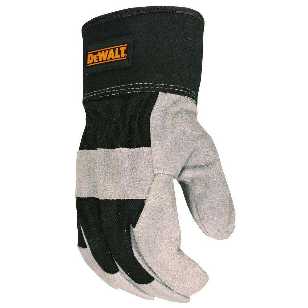 Premium Split Cowhide Leather Palm Glove - Large
