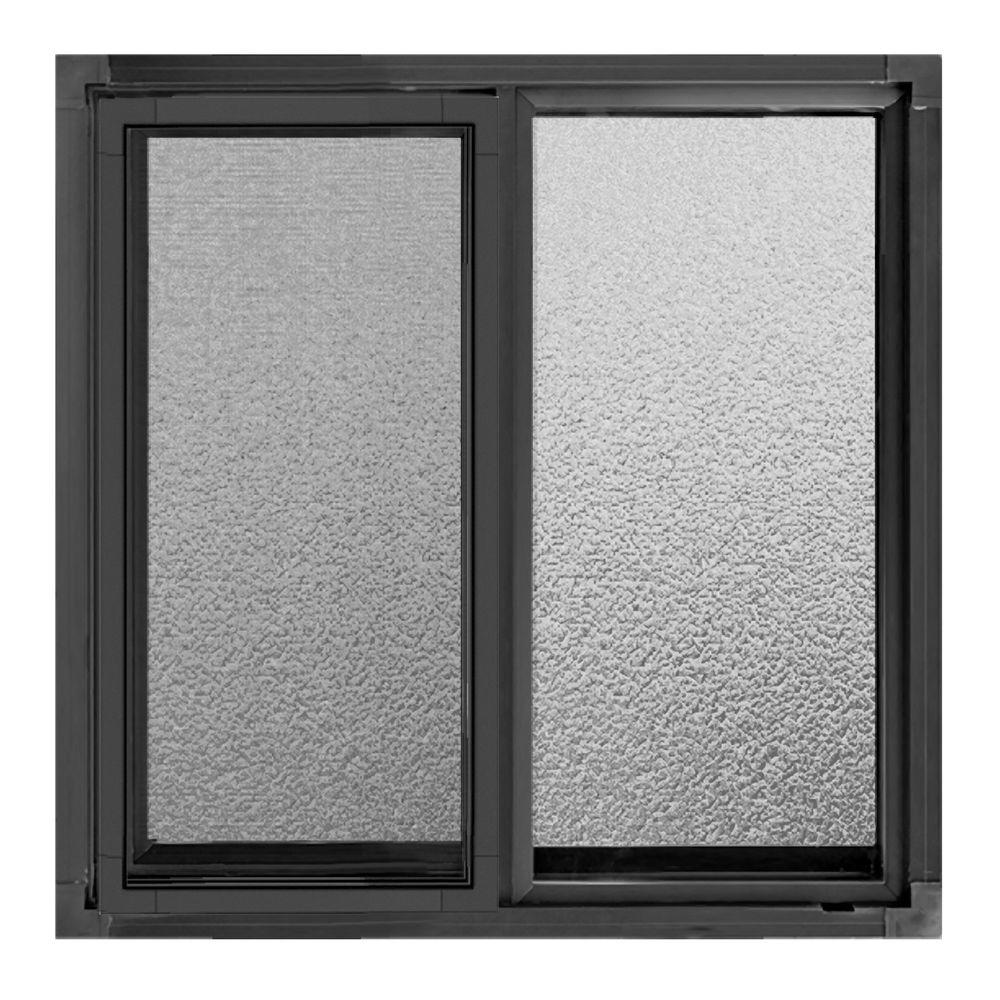 Jeld wen 23 5 in x 23 5 in a 200 series sliding aluminum for Sliding glass windows