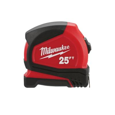 25 ft. Compact Tape Measure (4-Pack)