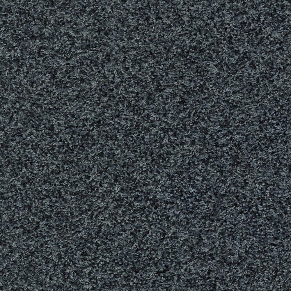 Carpet Sample - Star City - In Color Cave Pool 8 in. x 8 in.